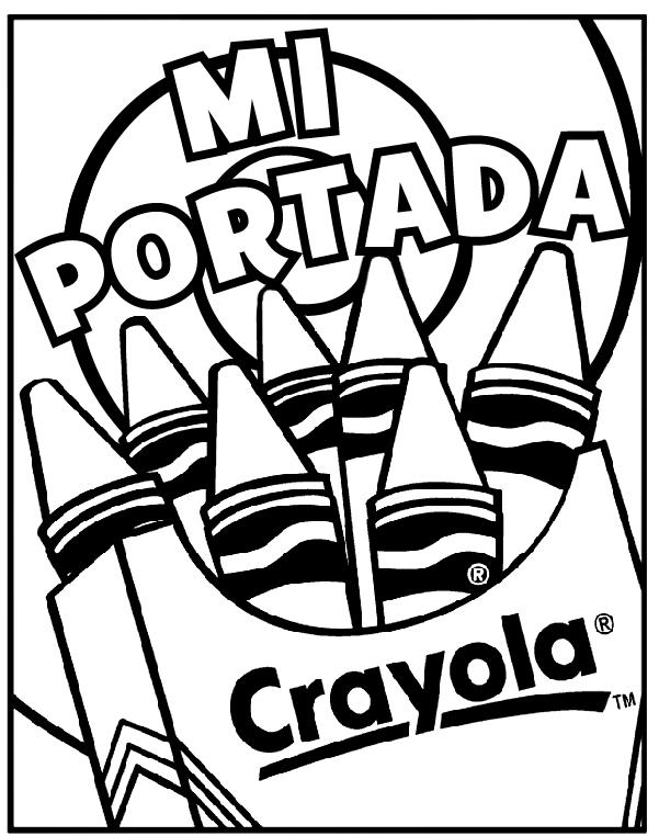 Portada Para Cuaderno | crayola.com.mx