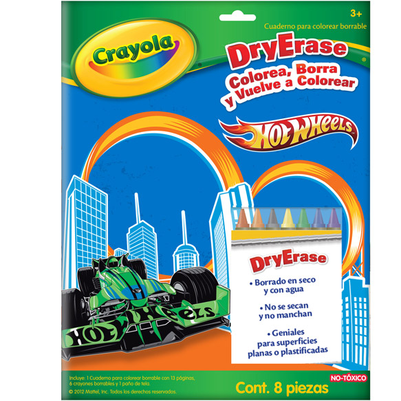 Cuaderno Hot Wheels