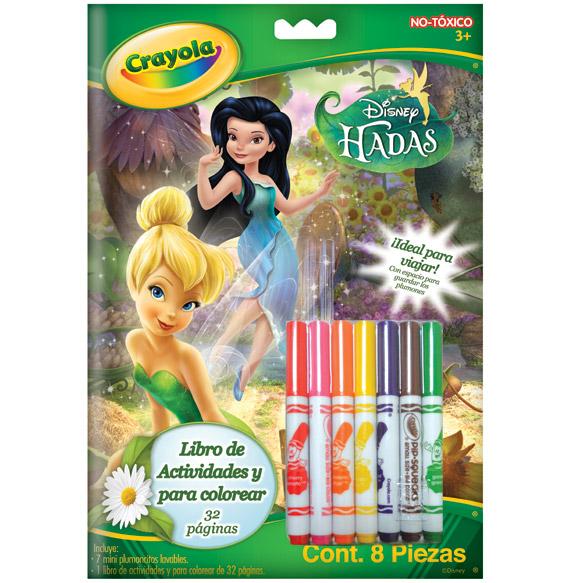Libro de actividades Hadas | crayola.com.mx