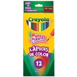12 Lápices de color