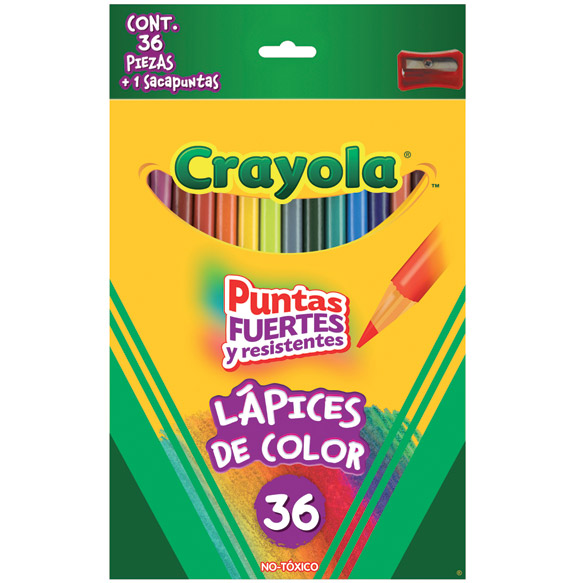 36 Lápices de color