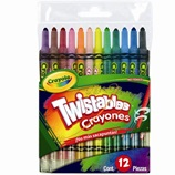 12 Crayones Twistables